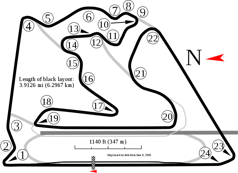 maps of bahrain. Track maps and analysis after