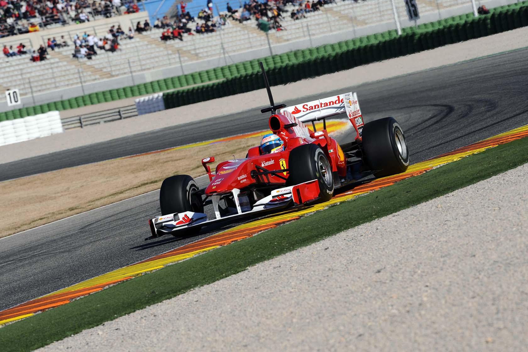 Circuito Valencia F1 : Formula valencia testing recap the lowdown