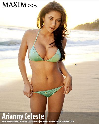 Arianny Celeste's house in Las