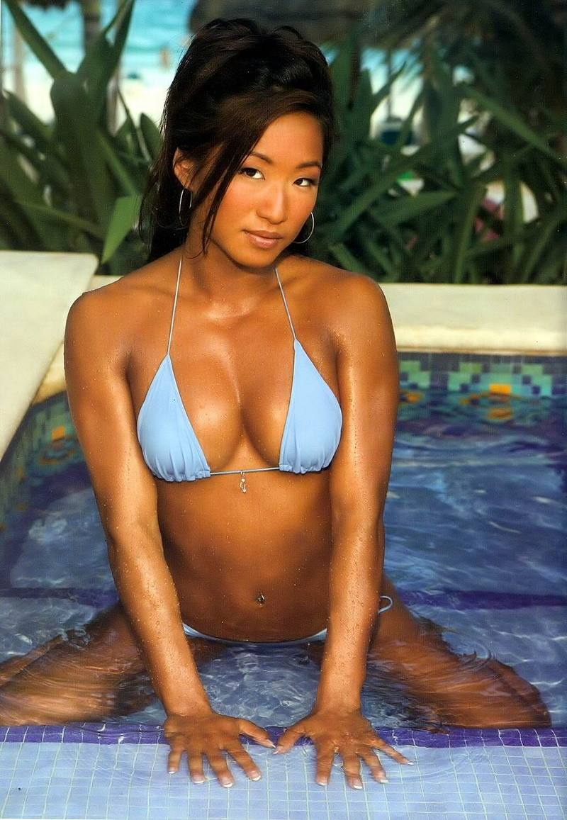 Hot Photos Of Gail Kim Showing Off Her Stunning Body PWMania Gail kim hot photos