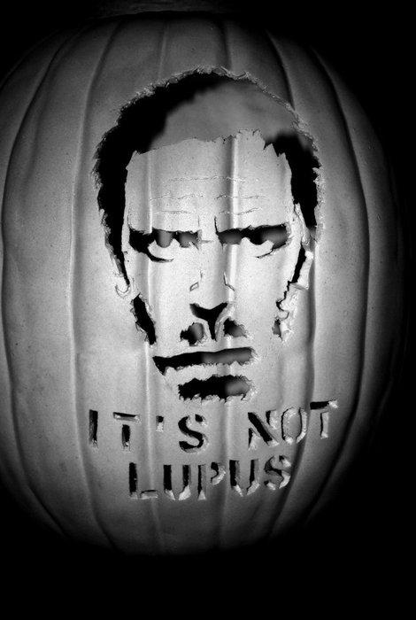 It's Not Lupus House Pumpkin