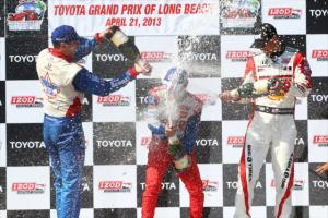 indycar-2013-long-beach-wilson-sato-rahal-podium