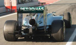 f1-2014-barcelona-test-rosberg-mercedes-exhaust