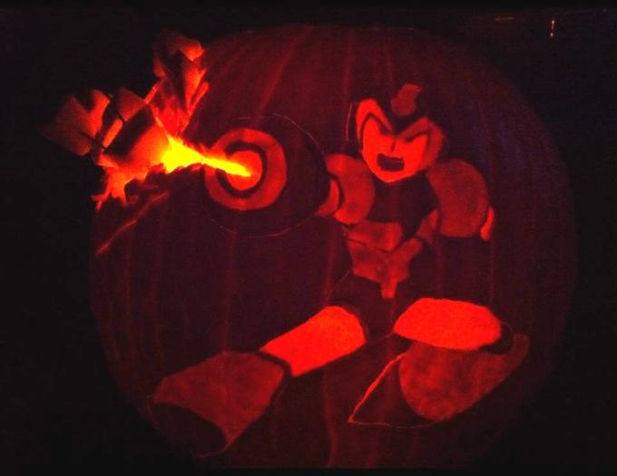 mega-man-jack-o-lantern