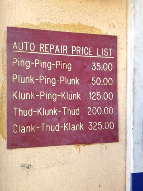 car-repair-price-fail
