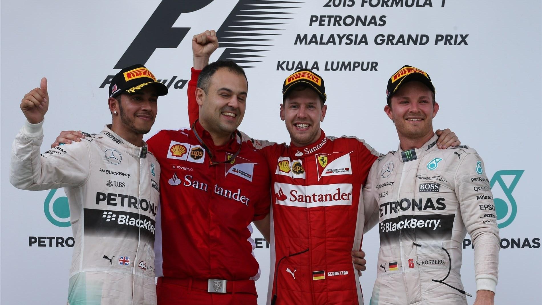 Winner Malaysian Grand Prix 2016 F Malaysia Podium